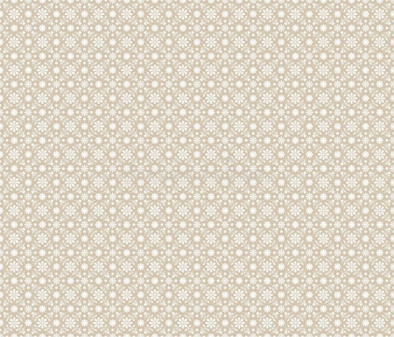 Fond géométrique beige illustration stock