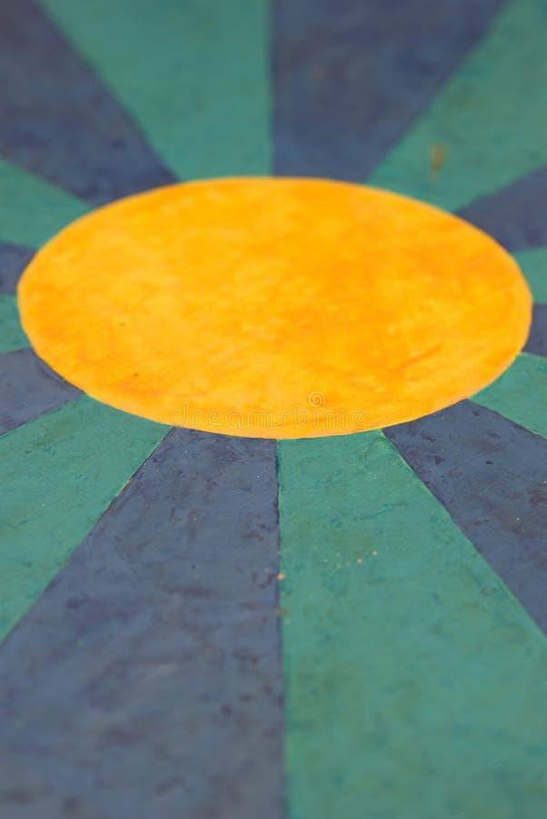 Fond géométrique coloré image stock