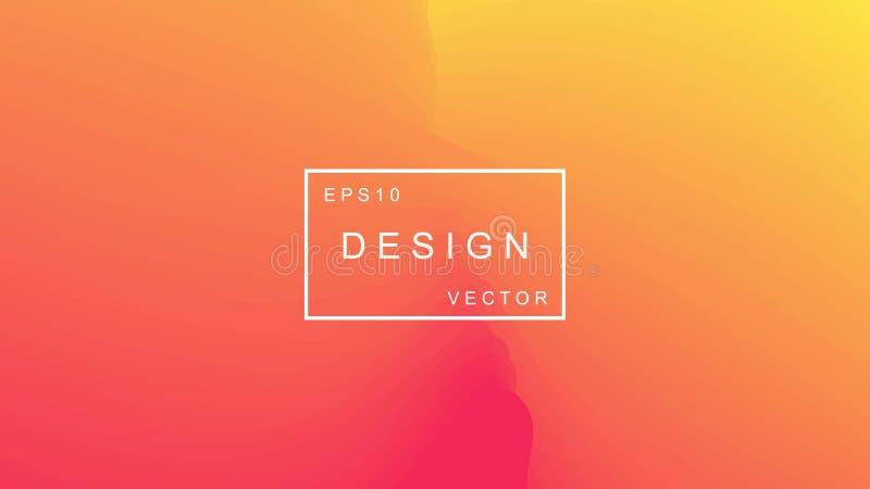 Fond géométrique coloré Composition abstraite en gradient Conception moderne du vecteur EPS10 illustration libre de droits