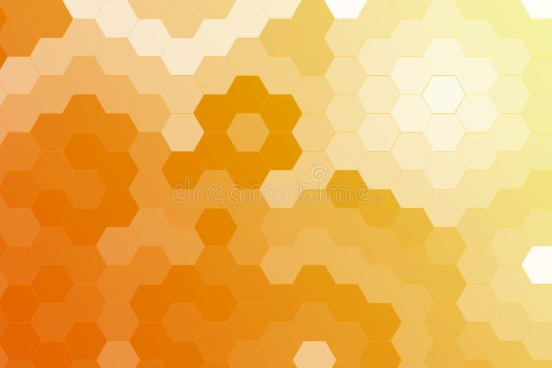 Fond géométrique d'hexagone photos libres de droits