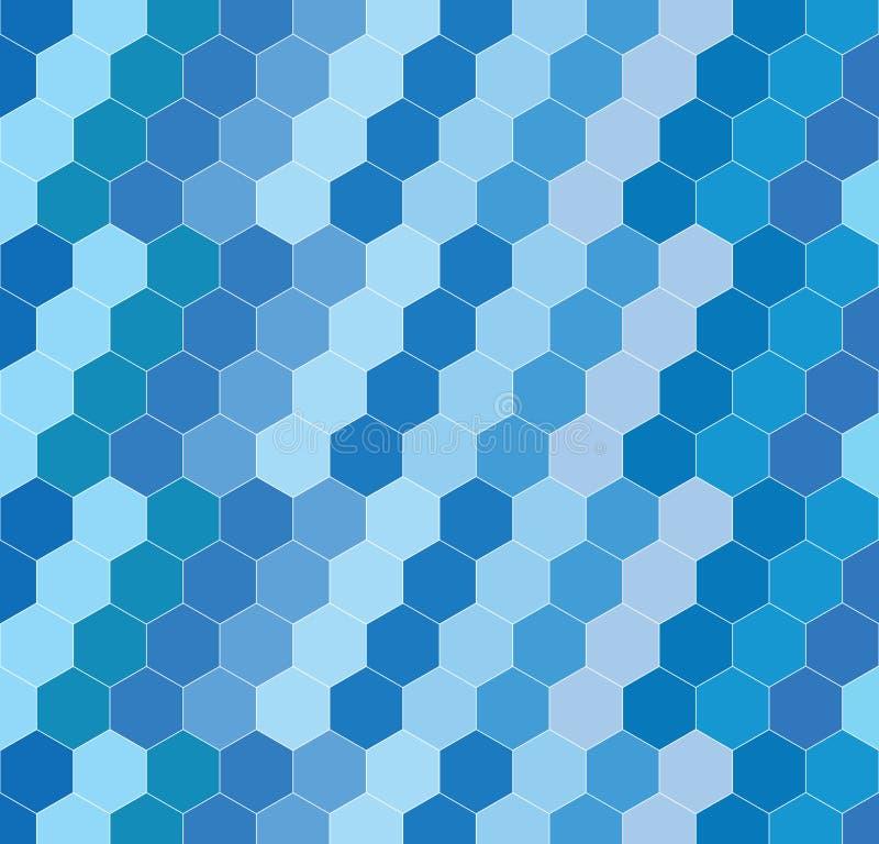 Fond géométrique d'hexagone photos stock
