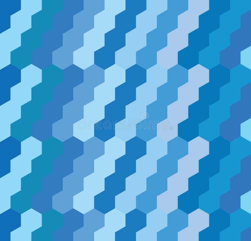 Fond géométrique d'hexagone photographie stock libre de droits