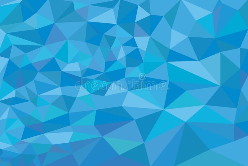 Fond géométrique de gradient de résumé des triangles illustration libre de droits