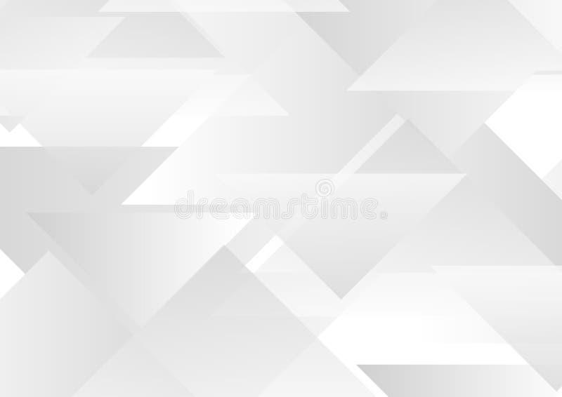 Fond géométrique de pointe abstrait de vecteur de triangles illustration de vecteur