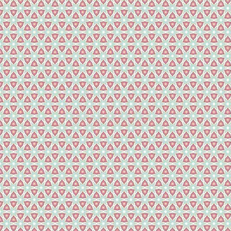 Fond géométrique de texture de modèle d'étoile colorée abstraite de luxe unique illustration de vecteur