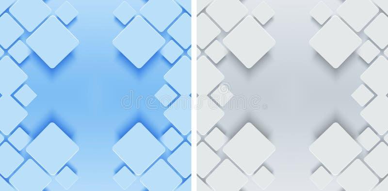 Fond géométrique moderne illustration stock