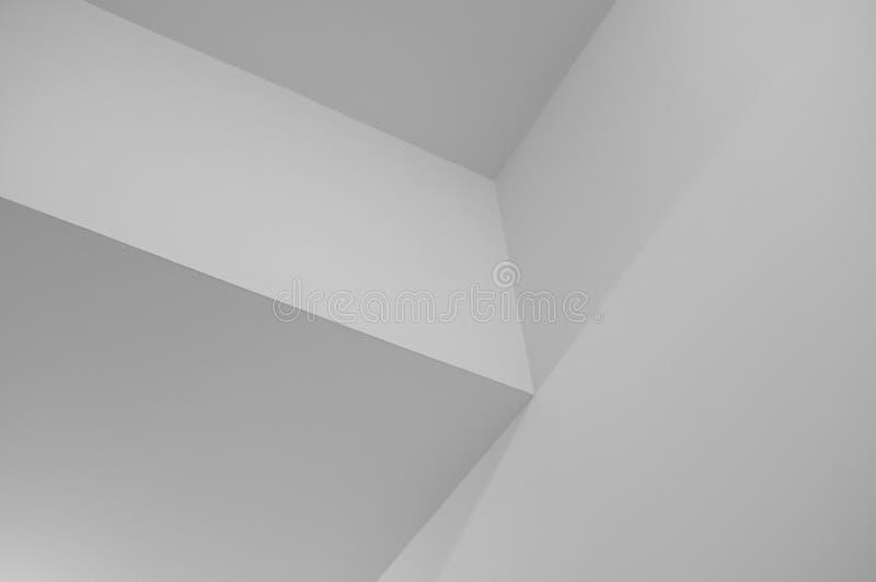 Fond géométrique monochrome de Minimalistic images libres de droits