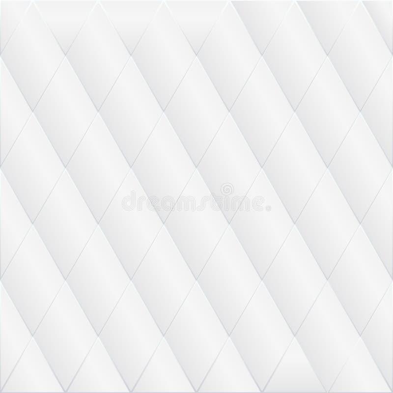 Fond géométrique monochrome gris mou sans couture Tapotement abstrait illustration libre de droits