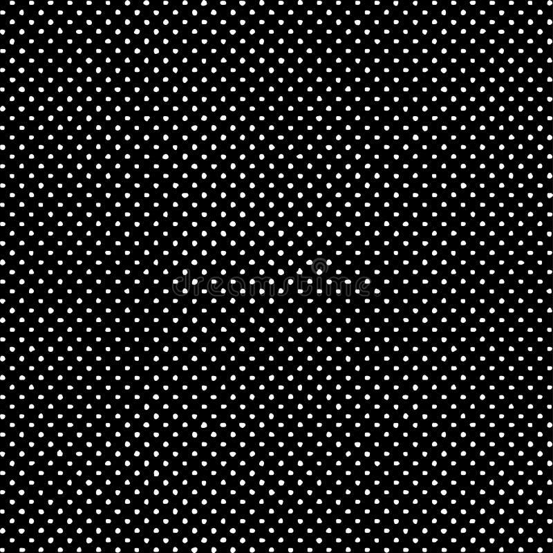 Fond géométrique sans couture décoratif de modèle de vecteur illustration stock