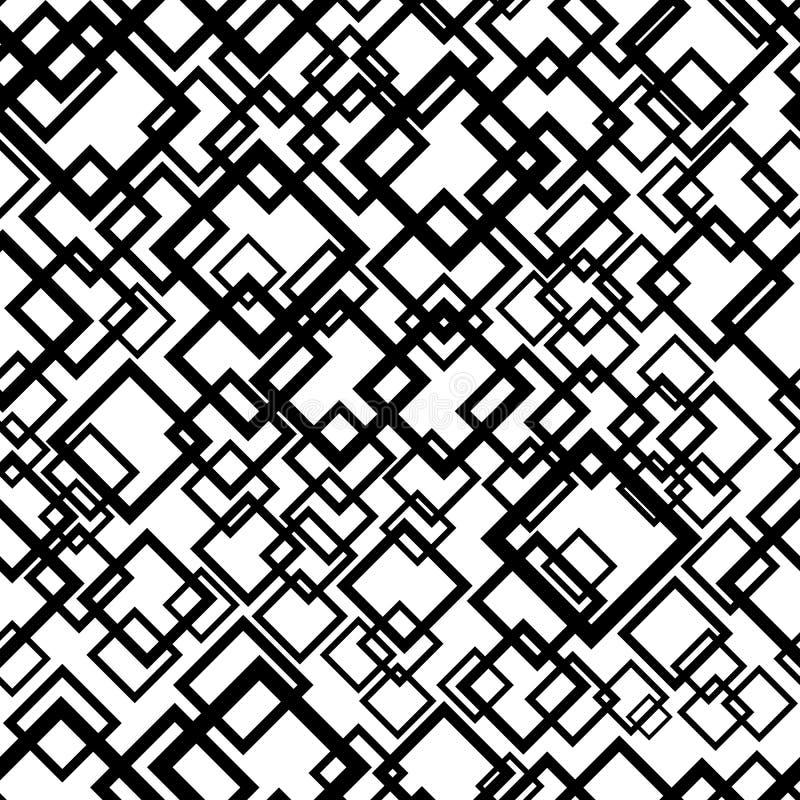 Fond géométrique sans joint Modèle de répétition abstrait illustration libre de droits