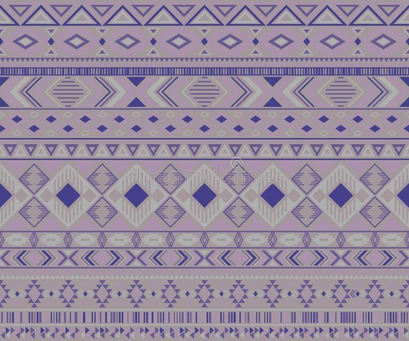Fond g?om?trique de vecteur de motifs ethniques tribals indiens de mod?le illustration de vecteur