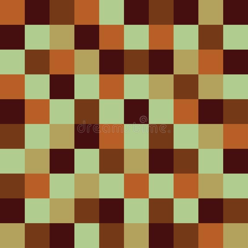 Fond g?om?trique des places color?es Fond de pixel illustration de vecteur