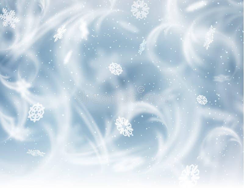 Fond gelé d'hublot Vecteur eps10 illustration stock