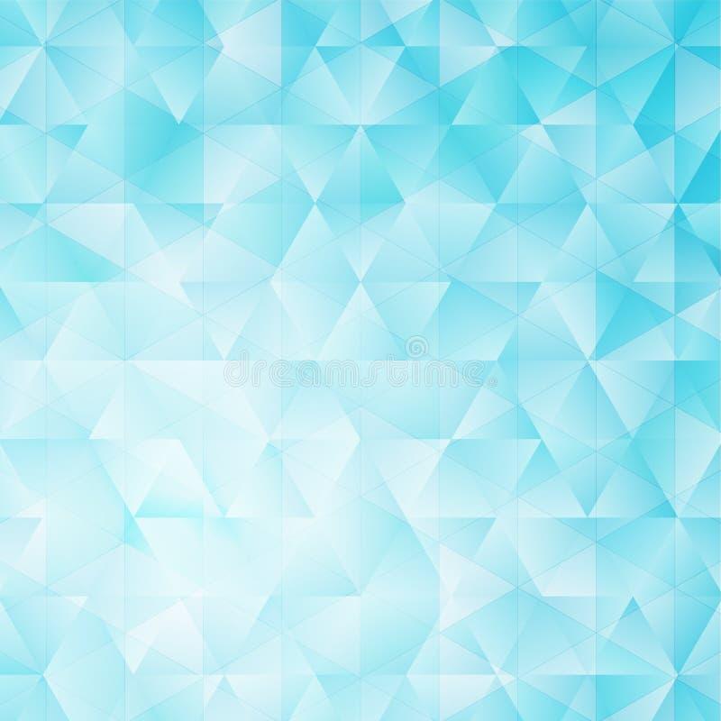 Fond glacial abstrait sans couture illustration stock