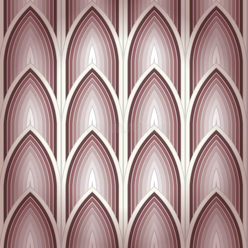 Fond gothique sans couture illustration stock