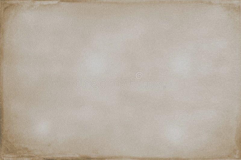 Fond grenu abstrait de sépia illustration libre de droits
