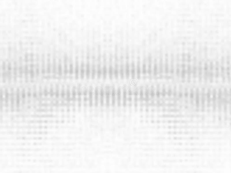 Fond gris-clair de tache floue illustration de vecteur