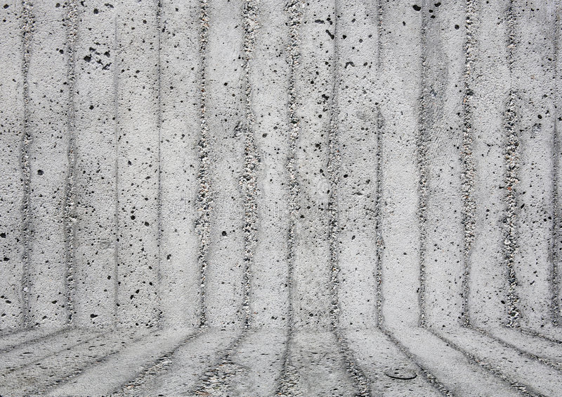 Fond gris de mur avec l'étage images stock