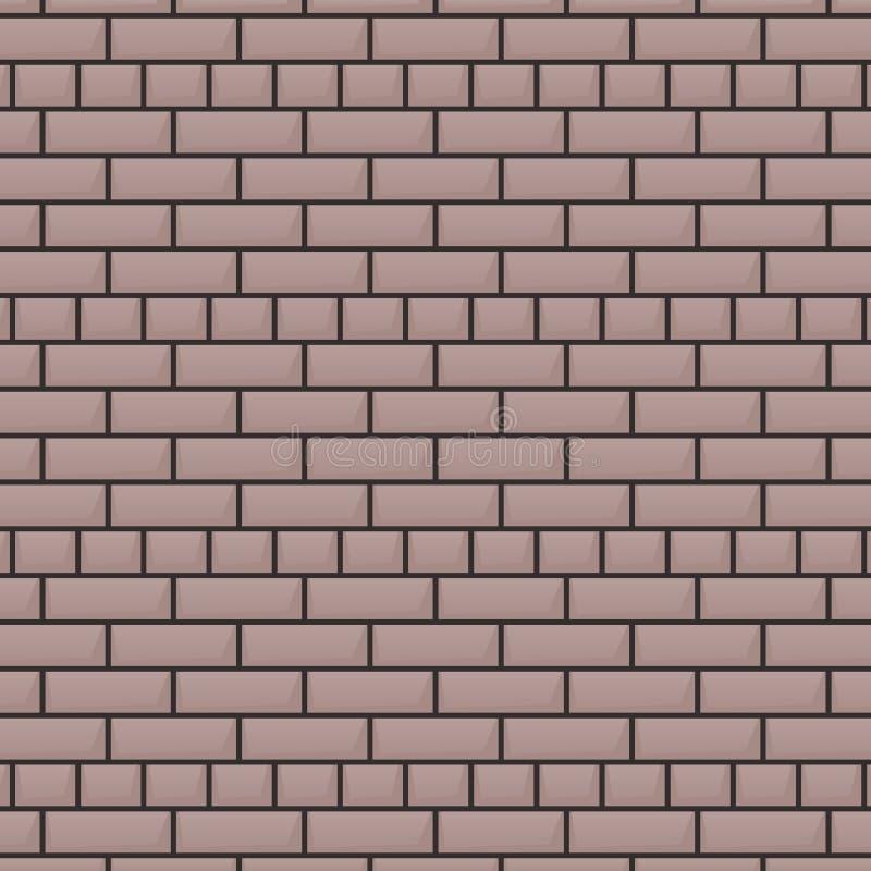 Fond gris de mur de briques illustration de vecteur