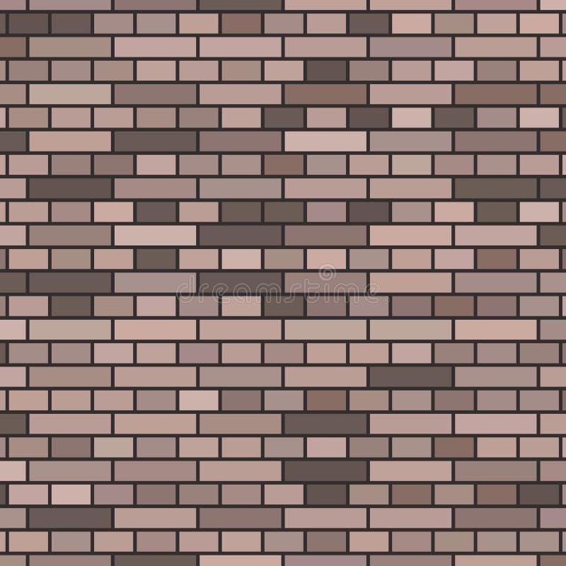Fond gris de mur de briques illustration stock