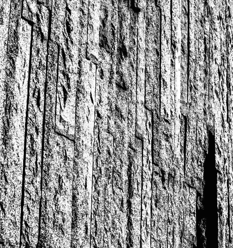 Fond gris de photo, papier peint dans les rayures en pierre, images stock