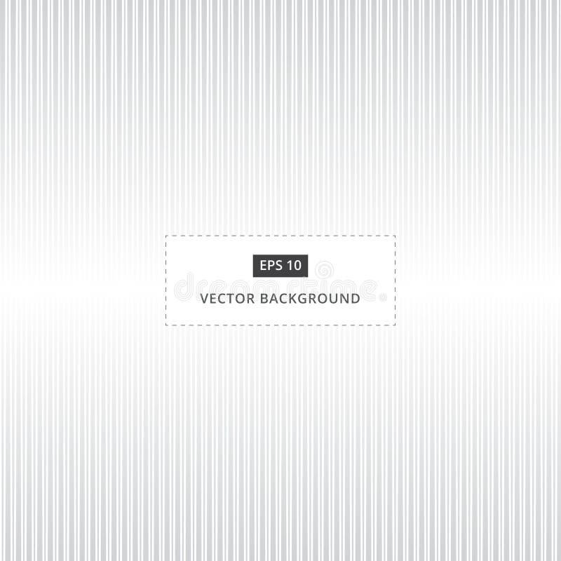 Fond gris et blanc abstrait des lignes droites verticales illustration stock