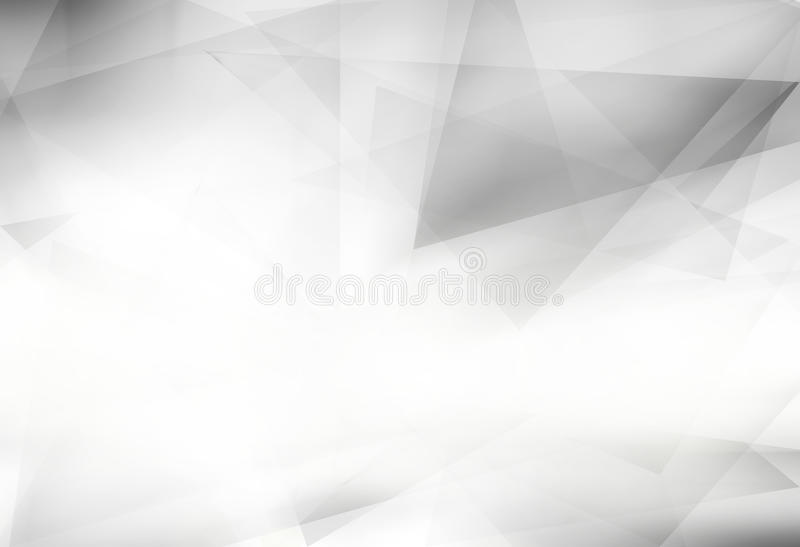 Fond gris polygonal abstrait illustration de vecteur