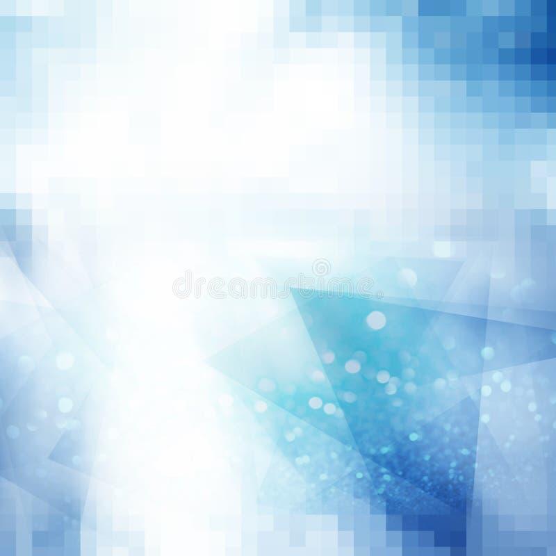 Fond gris polygonal abstrait illustration libre de droits