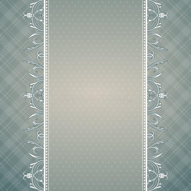 Fond gris, vecteur illustration stock