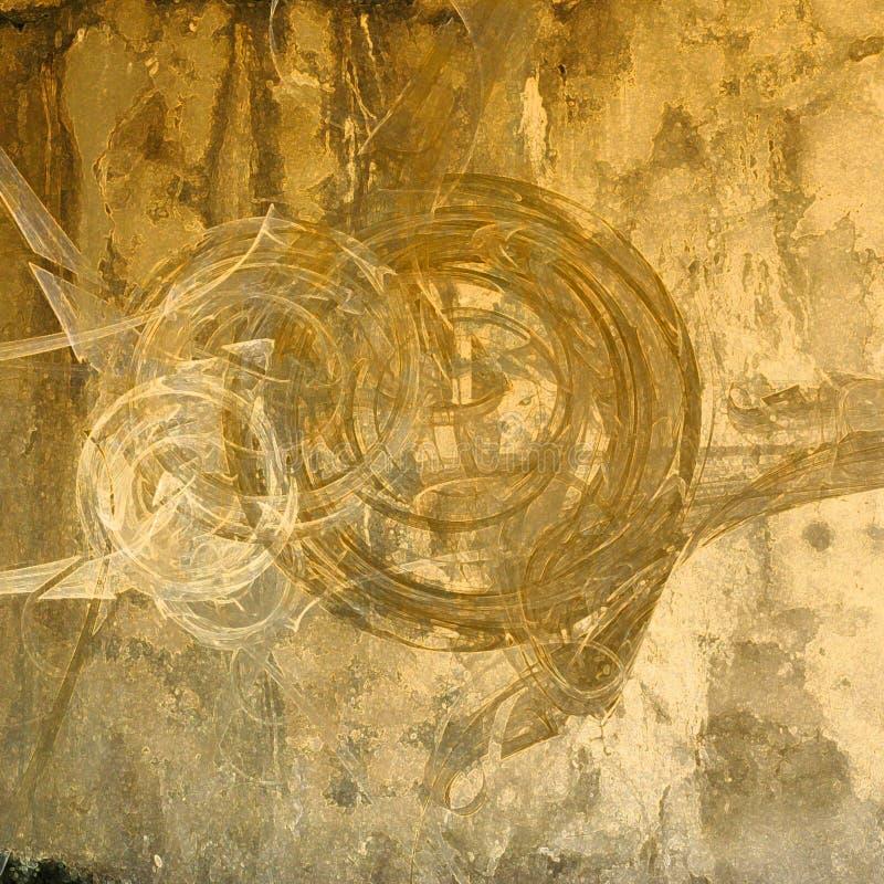 Fond grunge abstrait d'art illustration libre de droits