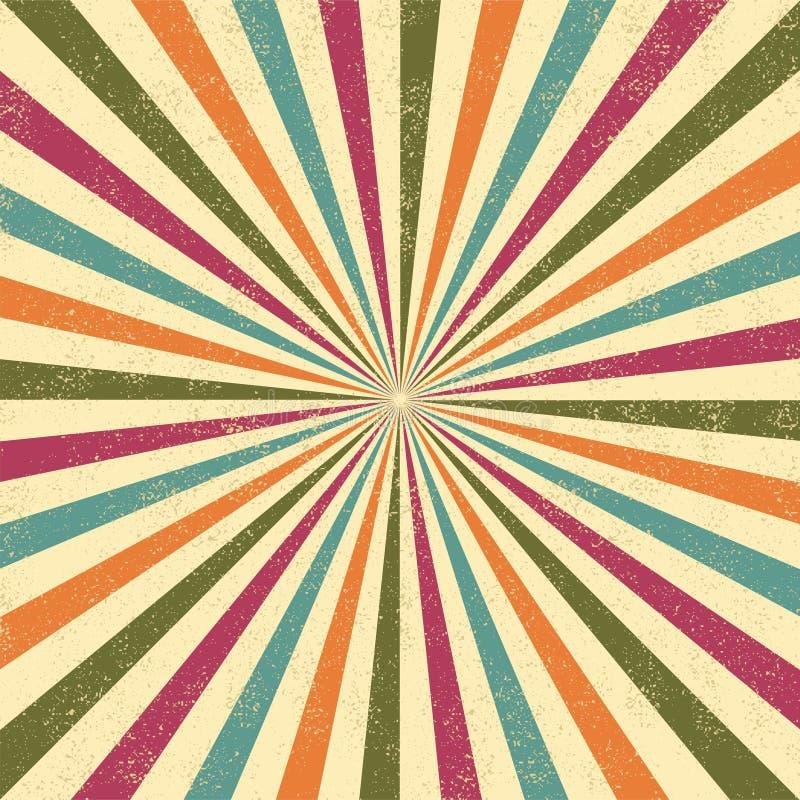 Fond grunge abstrait, illustration de vecteur illustration de vecteur