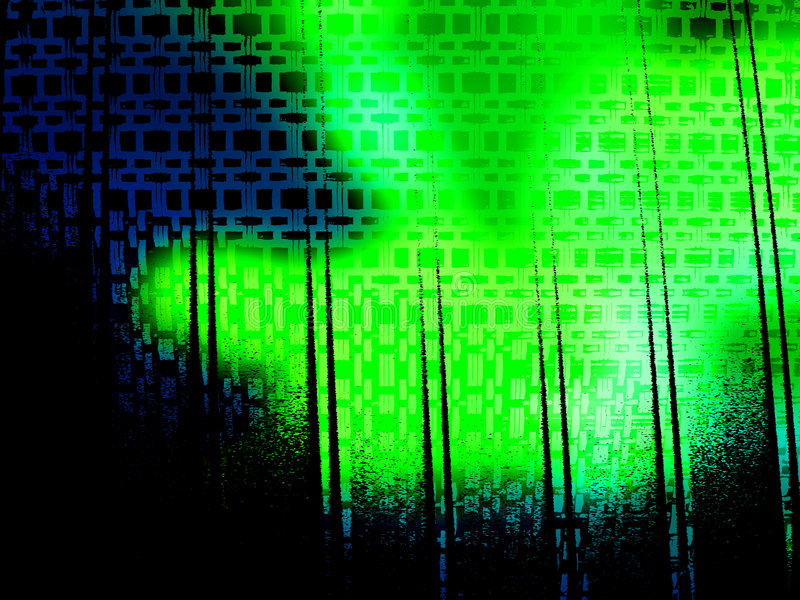 Fond grunge acide de vert bleu illustration de vecteur