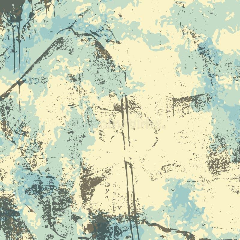 Download Fond Grunge Beige De Gris Bleu Illustration de Vecteur - Illustration du âgé, rétro: 77150386