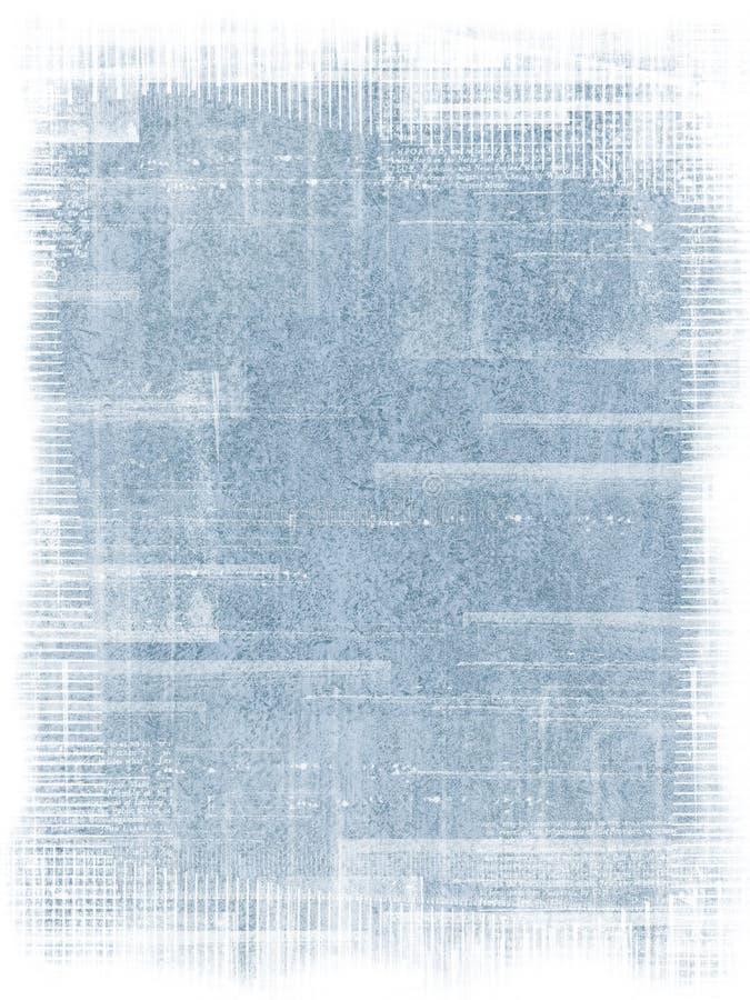Fond grunge bleu illustration libre de droits
