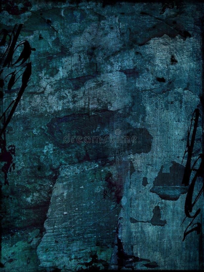 Fond grunge bleu illustration de vecteur