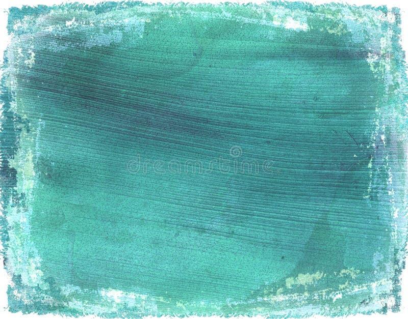 Fond grunge bleu-clair lavé de papier de noix de coco photos libres de droits