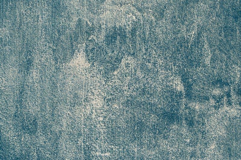 Fond grunge bleu-fonc? Mur en béton moderne rugueux Texture de modèle de cru Bannière abstraite de contexte Grung peint texturisé images libres de droits