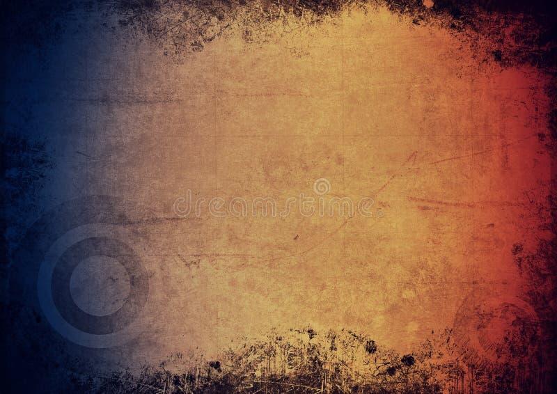 Fond grunge coloré illustration libre de droits