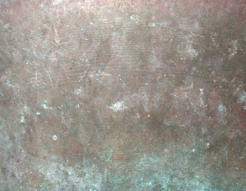 Fond grunge de cuivre âgé photographie stock
