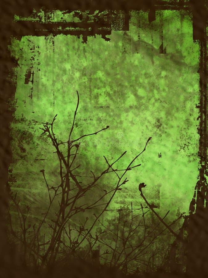 Fond grunge de l'hiver de type photos stock