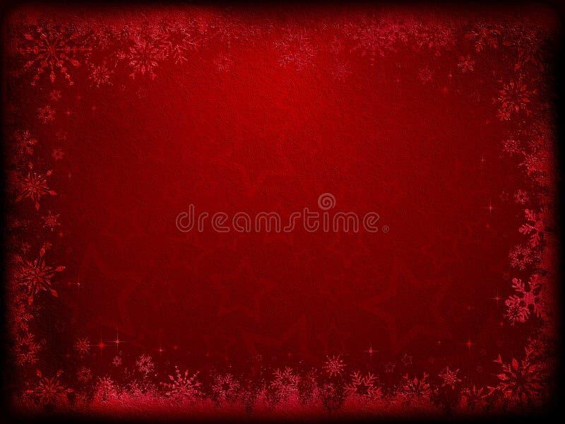 Fond grunge de Noël illustration libre de droits