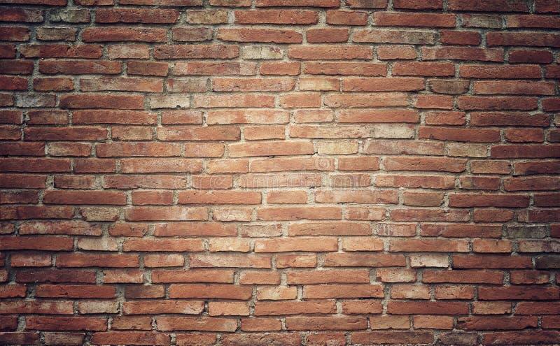 Fond grunge de texture de mur de briques avec le vintage et la vignette t photos stock