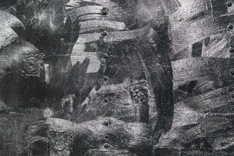 Fond grunge de texture de fer de metall avec l'espace pour le texte ou l'image photographie stock