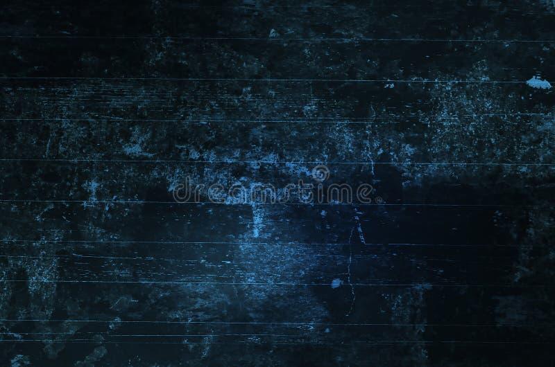 Fond grunge de texture rayé par bleu photographie stock