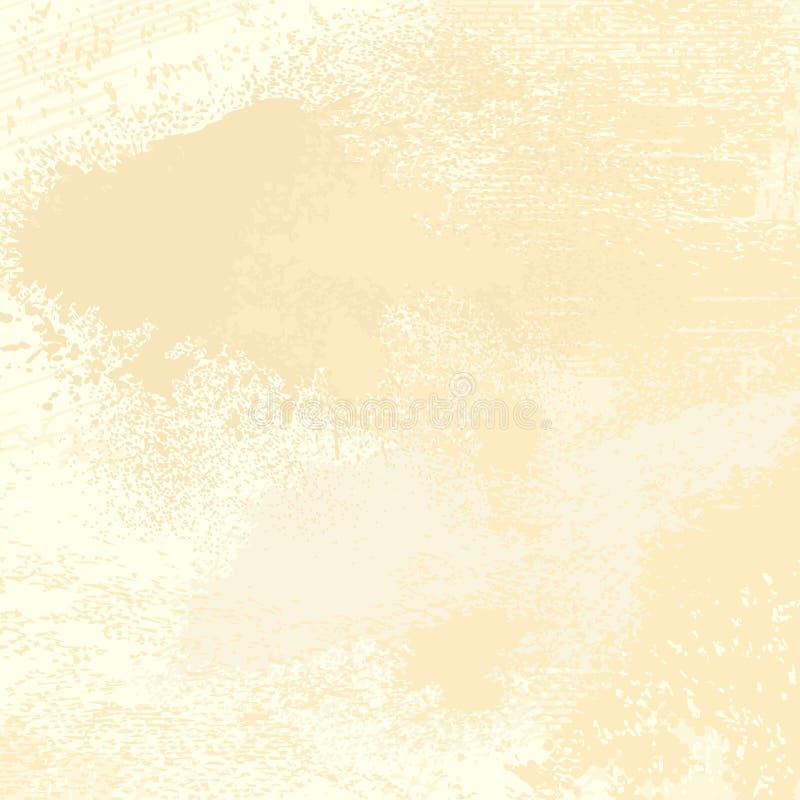 Fond grunge de vecteur dans des sons en pastel illustration libre de droits