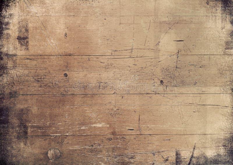 Fond grunge en bois photo stock