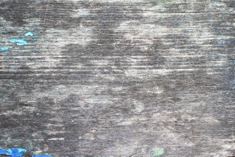 Fond grunge en bois Colorant criqué sur le vieux mur en bois gris images libres de droits