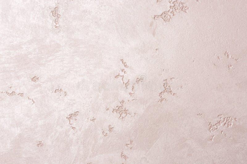 Fond grunge en pastel mauve-clair de mur de ciment image stock