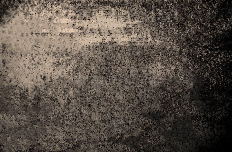 Fond grunge foncé Recouvrement de la poussière et fond W de détresse photo libre de droits