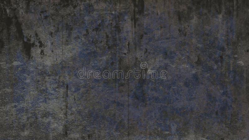 Fond grunge graveleux sale gris bleu-foncé de texture photographie stock